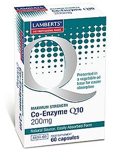 Co-Enzyme Q10 200mg - 60 Capsules - Lamberts