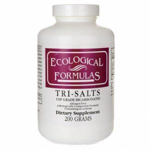 Tri-Salts, USP Grade Bicarbonates, 200 g - Ecological Formulas