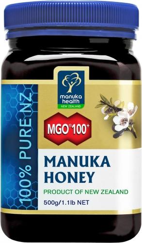 MGO 100+ Pure Manuka Honey - 500g - Manuka Health Products