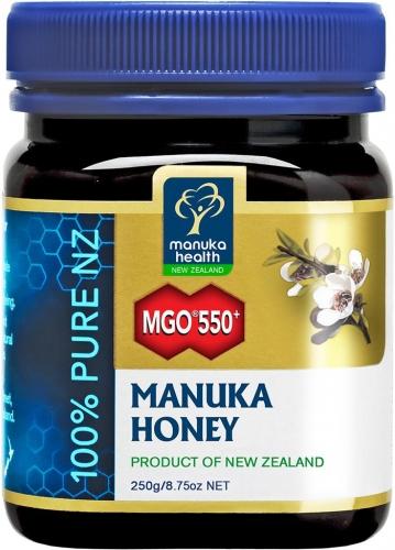 MGO 550+ Pure Manuka Honey - 250g - Manuka Health Products