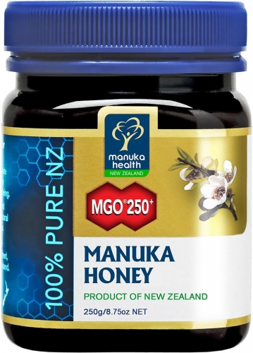 MGO 250+ Pure Manuka Honey - 250g - Manuka Health Products