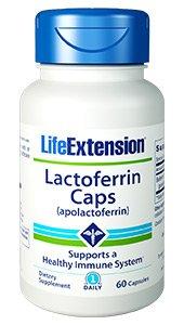 Lactoferrin Caps, 60 Capsules - Life Extension
