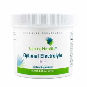 Optimal Electrolyte Powder  - 234 g - Berry Flavour - Seeking Health