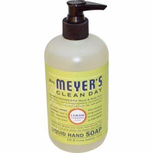 Liquid Hand Soap, Lemon Verbena Scent, 12.5 fl oz (370 ml) - Mrs. Meyers Clean Day