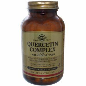 Quercetin Complex, 100 Veggie Caps - Solgar