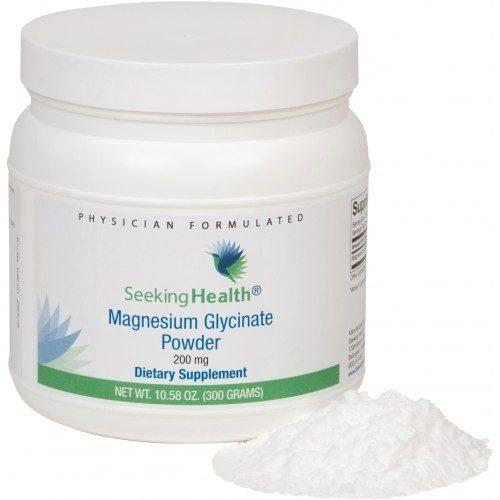 Magnesium Glycinate Powder - 300g - Seeking Health