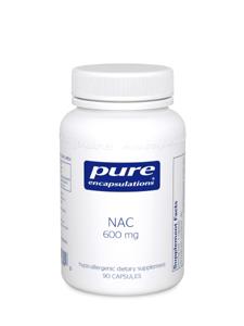 NAC 600 mg 90 vcaps - Pure Encapsulations
