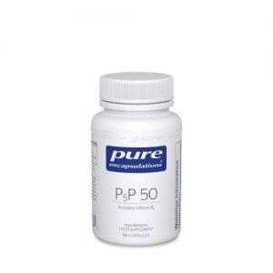 P5P-50 (activated B-6) 180 veg caps - Pure Encapsulations
