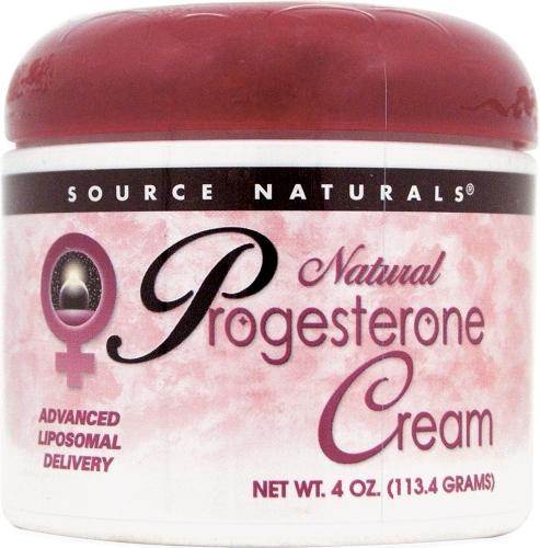 Natural Progesterone Cream (113.4 g) - Source Naturals