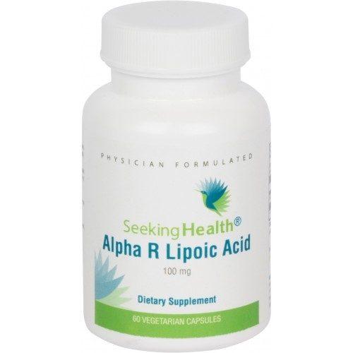 Alpha R Lipoic Acid - 100 mg - 60 Vegetarian Caps - Seeking Health