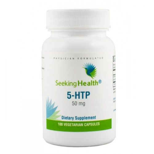 5-HTP, 50 mg - 100 Vegetarian Capsules - Seeking Health