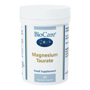 Magnesium Taurate 60 Capsules - BioCare