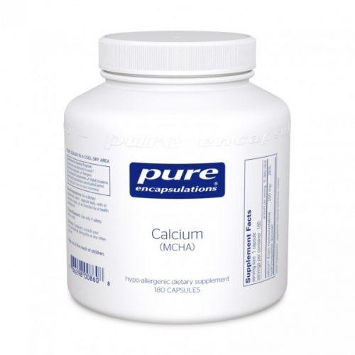 Calcium (MCHA) - 180 Caps - Pure Encapsulations