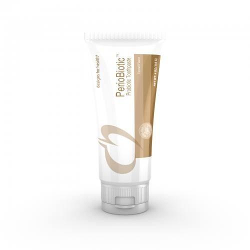 PerioBiotic™ (Probiotic) Toothpaste - 118 g (90 ml) - Fennel Flavour - Designs for Health