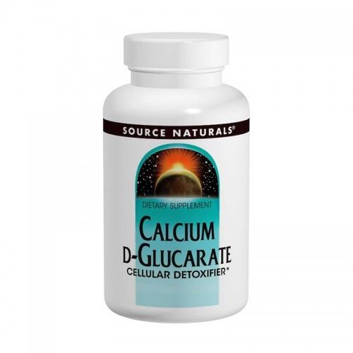 Calcium D-Glucarate (500mg) 120 Tabs - Source Naturals