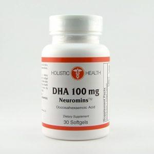 DHA Neuromins - 30 Softgels - Holistic Health - SOI**
