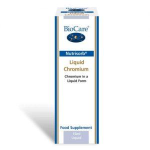 Nutrisorb® Liquid Chromium 15ml - BioCare