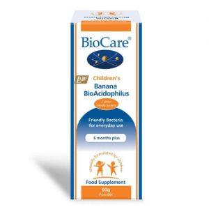 Children's Banana Bio Acidophilus Powder 60g - Biocare