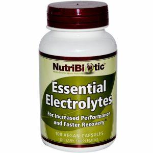 Essential Electrolytes, 100 Vegan Capsules - NutriBiotic