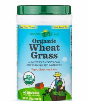 Organic Wheat Grass Powder 17 oz - Amazing Grass