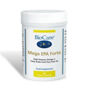 Mega EPA Forte - 60 Marine Caps - BioCare