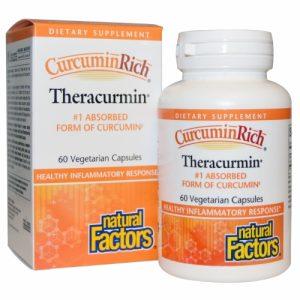 CurcuminRich, Theracurmin, 60 Veggie Caps - Natural Factors