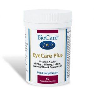 EyeCare Plus 60 Capsules - BioCare