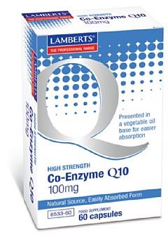 Co-Enzyme Q10 100mg, 60 caps - Lamberts