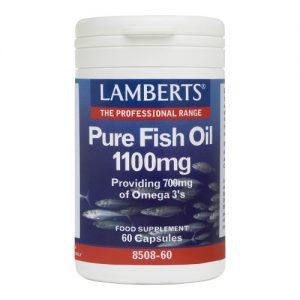 Pure Fish Oil 1100mg - 60 Caps - Lamberts