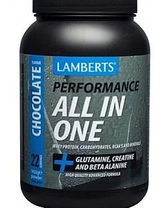 All-In-One Chocolate Sports Shake, 1450 g - Lamberts