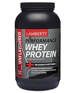 Whey Protein Unflavoured, 1000 g - Lamberts