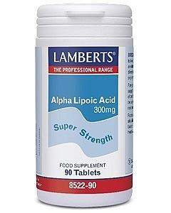 Alpha Lipoic Acid 300mg 90 Tabs - Lamberts