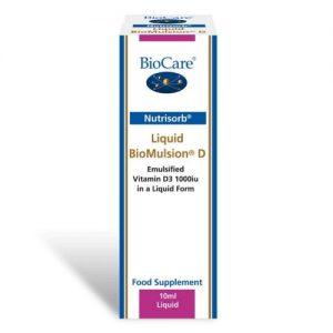 BioMulsion D (1000iu) 10ml - Biocare