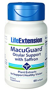 Macuguard™ Ocular Support 60 softgels - Life Extension