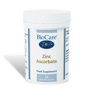 Zinc Ascorbate- 60 Capsules - Biocare
