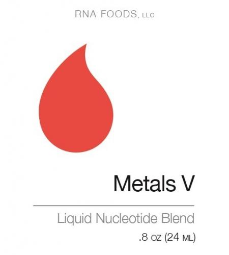 Metals V .8 oz. (24 ml) - Holistic Health - SOI**