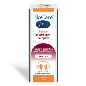 Children's Elderberry Complex 150ml - Biocare