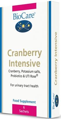 Cranberry Intensive 6 Sachets - Biocare