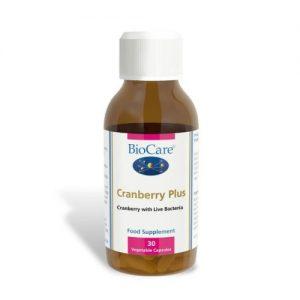 Cranberry Plus 30 Capsules - Biocare