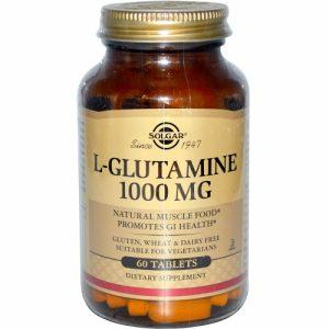 L-Glutamine, 1000 mg, 60 Tablets - Solgar