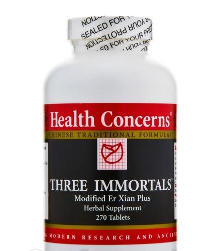 Three Immortals 750 mg 270 tabs - Health Concerns