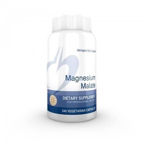 Magnesium Malate 240 veg caps - Designs for Health