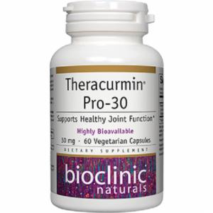 Theracurmin-Pro 30, 60 veg caps - Bioclinic Naturals