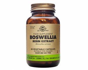Boswellia Resin Extract, 60 Veggie Caps - Solgar