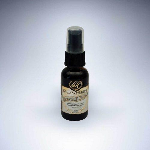 Throat Spray 1oz - Barlow Herbals SOI**