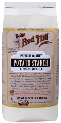 Potato Starch, Unmodified, 24 oz (680 g) - Bob's Red Mill