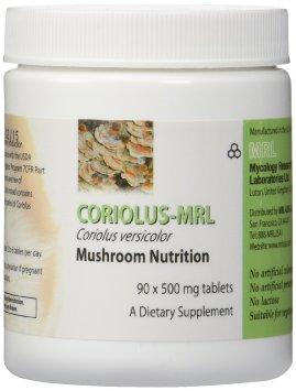 Coriolus Versicolor-MRL 500 mg 90 tabs - MRL
