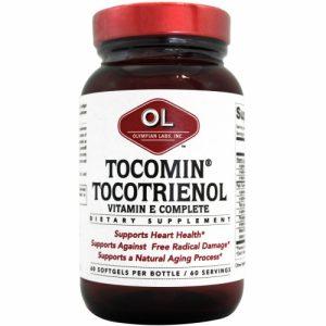 Tocomin Tocotrienol Vitamin E Complete, 60 Softgels - Olympian Labs Inc.