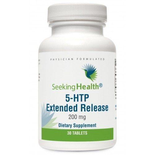 5-HTP Extended Release, 200 mg, 30 tabs - Seeking Health