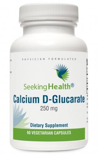 Calcium D-Glucarate - 250 mg - 60 Vegetarian Capsules - Seeking Health